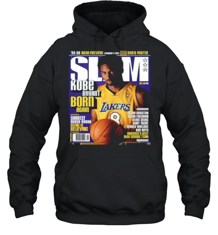 SLAM Kobe Bryant Born Again Los Angeles Lakers shirt Unisex Hoodie