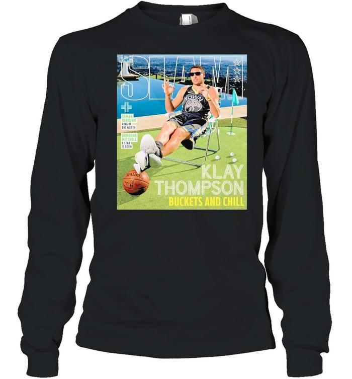 SLAM Posters Klay Thompson 2021 shirt Long Sleeved T-shirt