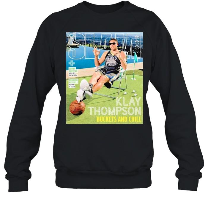SLAM Posters Klay Thompson 2021 shirt Unisex Sweatshirt