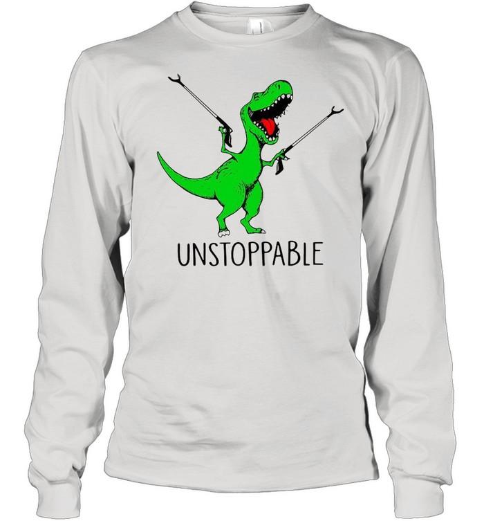 TRex unstoppable shirt Long Sleeved T-shirt