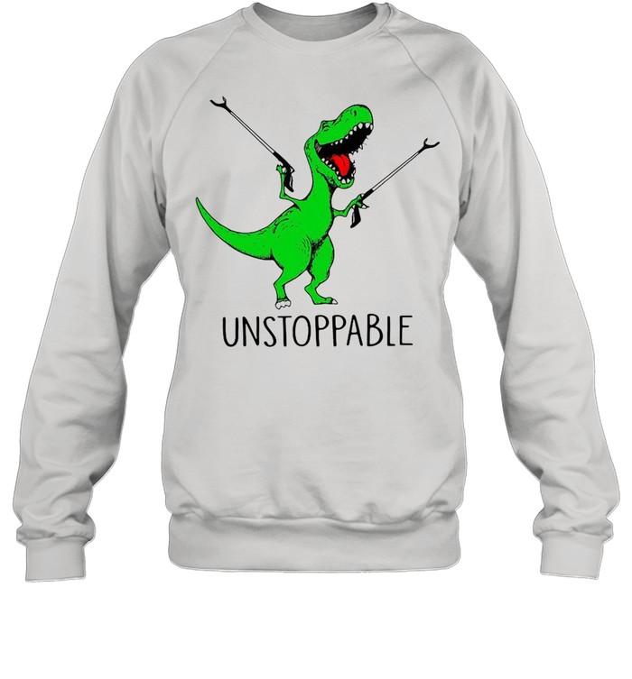 TRex unstoppable shirt Unisex Sweatshirt