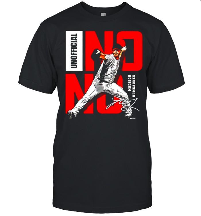 Arizona Baseball Madison Bumgarner Unofficial No Hitter shirt Classic Men's T-shirt