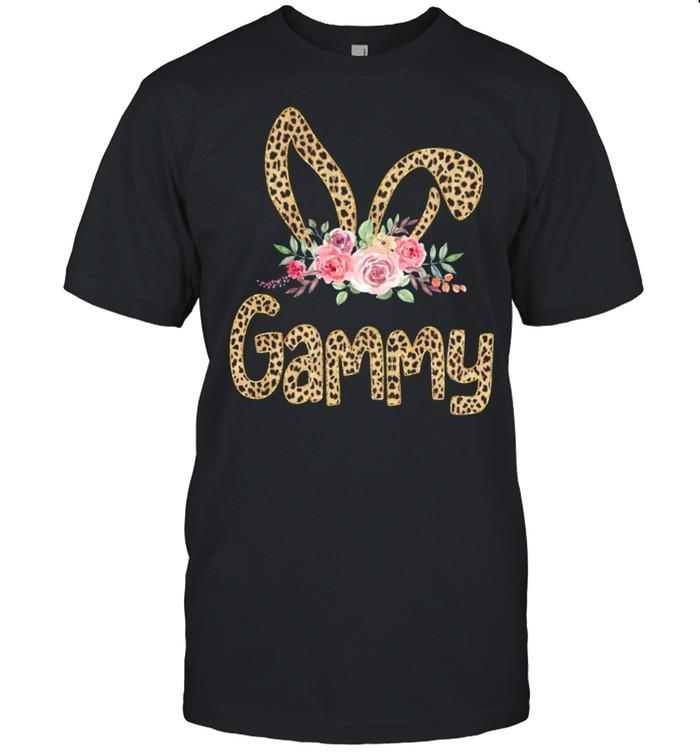 Flower Grammy Leopard Bunny shirt Classic Men's T-shirt