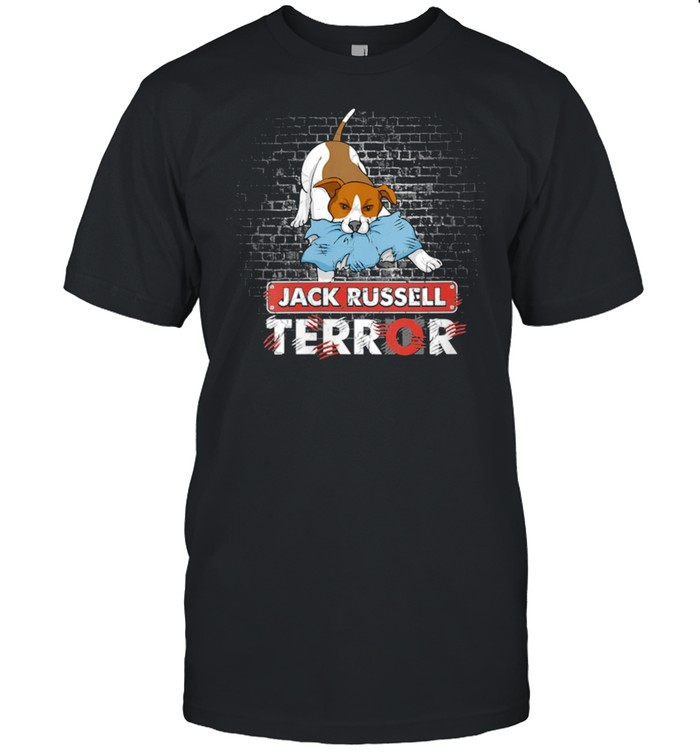 Jack Russell Terror Bad Dogs Jack Russell Terrier Dog shirt Classic Men's T-shirt