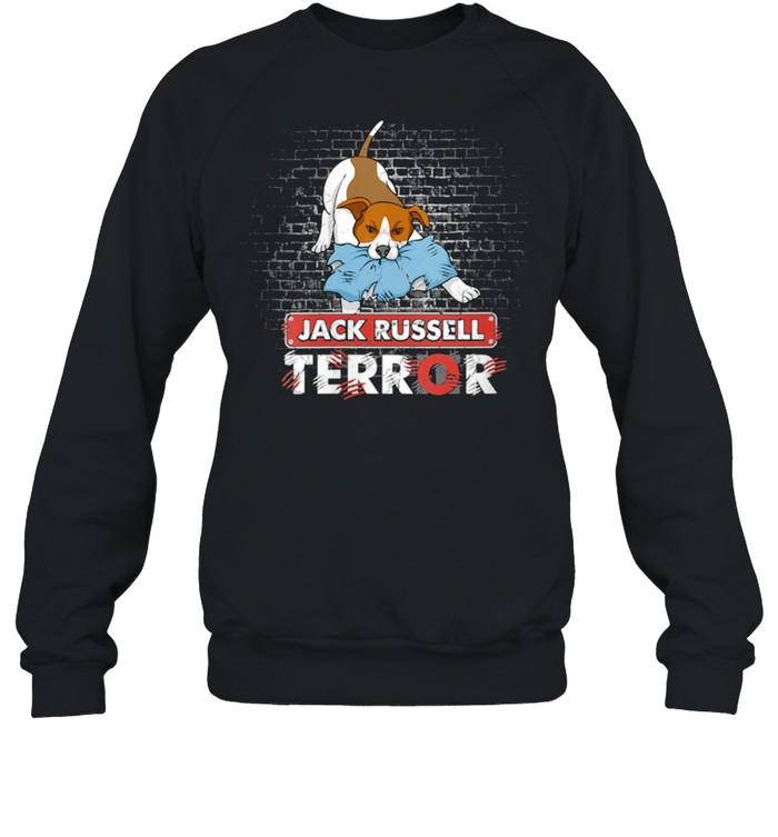 Jack Russell Terror Bad Dogs Jack Russell Terrier Dog shirt Unisex Sweatshirt