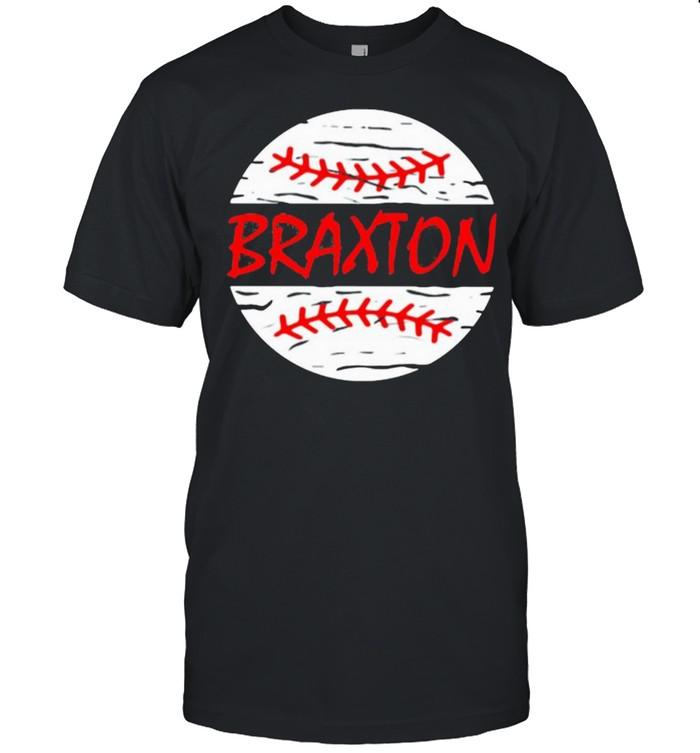 Braxton Baseball  Classic Men's T-shirt