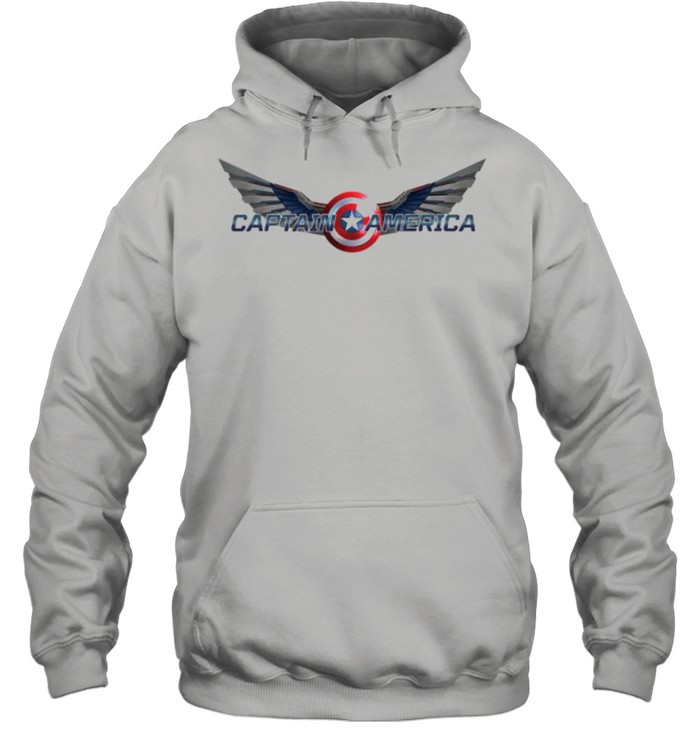 The Falcon and the Winter Soldier Captain America Wings  Unisex Hoodie