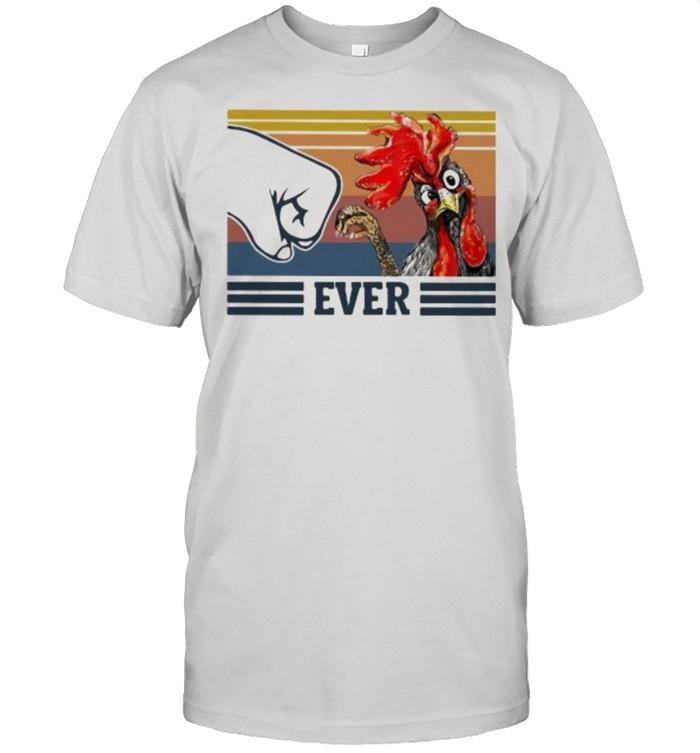 Best Chicken Dad Ever Vintage  Classic Men's T-shirt