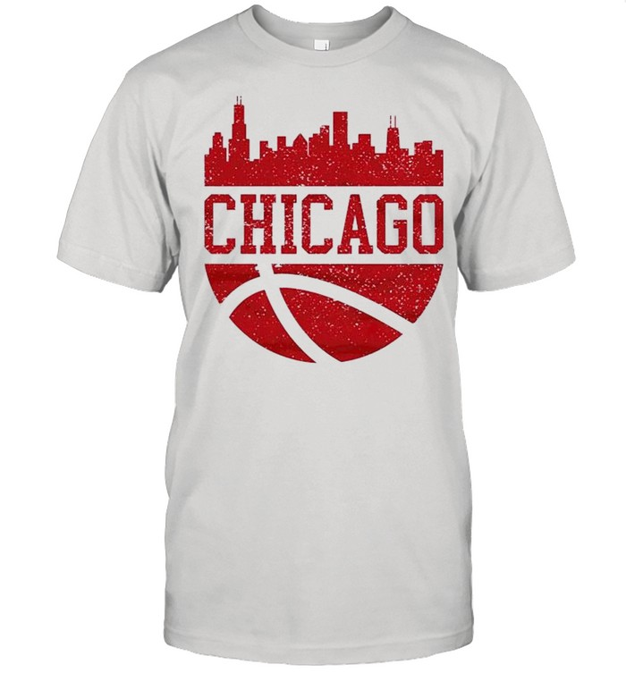 Chicago Illinois City Ball Illinois Lifestyle shirt Classic Men's T-shirt
