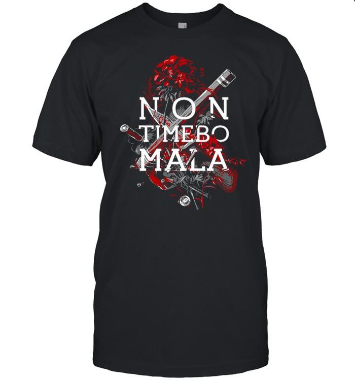 Non Timebo Mala T-shirt Classic Men's T-shirt
