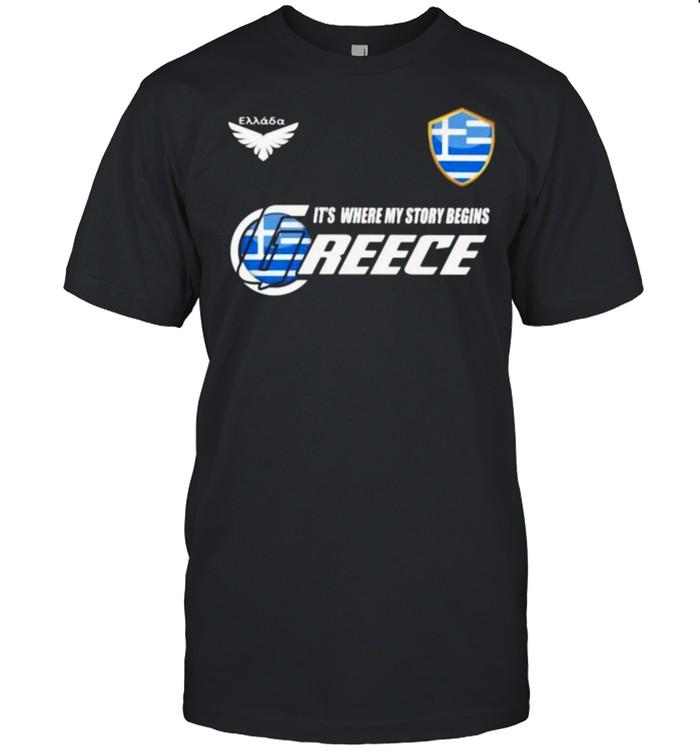 Greece DSA 2 Classic It Where My Story Begins  Classic Men's T-shirt