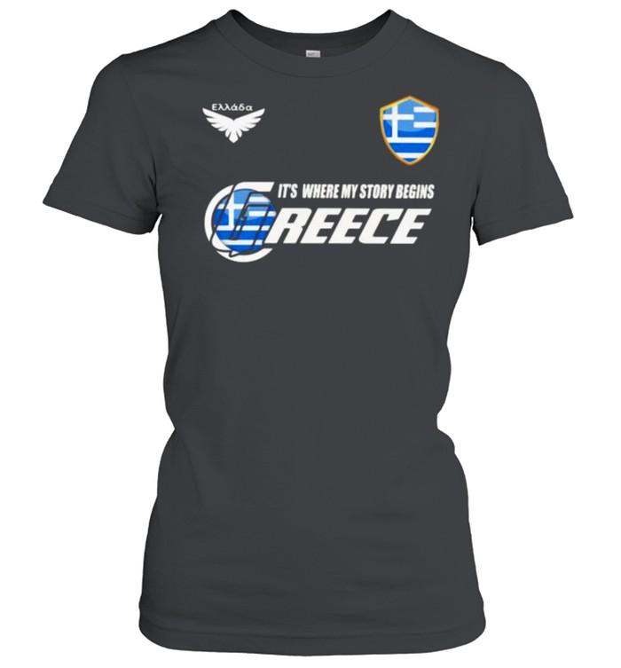 Greece DSA 2 Classic It Where My Story Begins  Classic Women's T-shirt