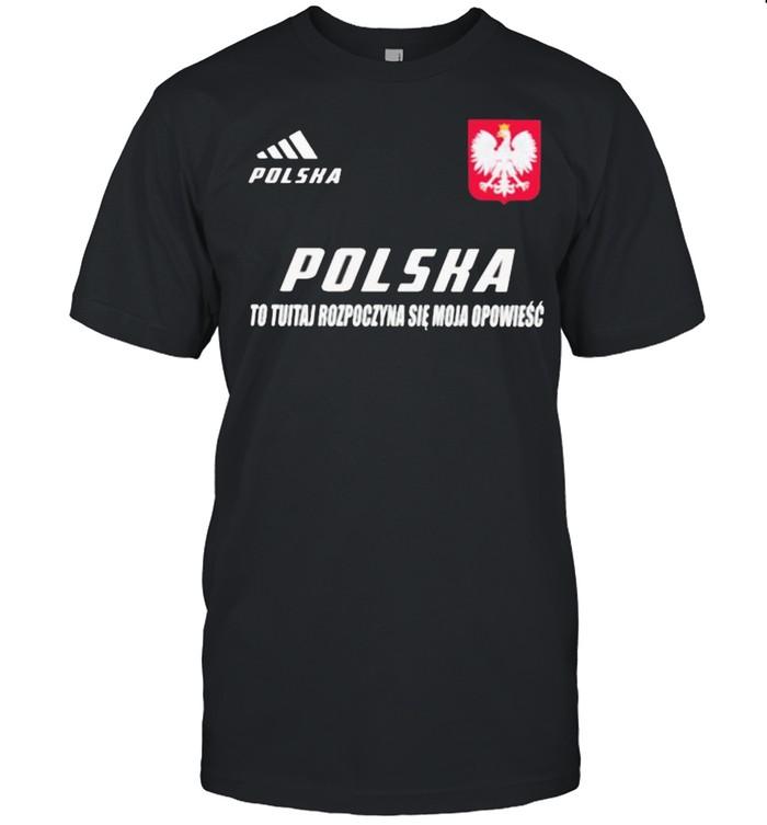 Polska DS 3 To Tutaj Rozpoczyna Sie Moja Opowiesc  Classic Men's T-shirt