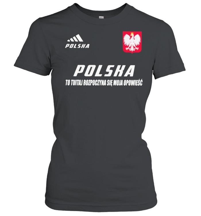 Polska DS 3 To Tutaj Rozpoczyna Sie Moja Opowiesc  Classic Women's T-shirt