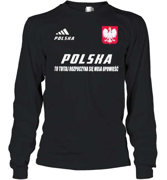 Polska DS 3 To Tutaj Rozpoczyna Sie Moja Opowiesc  Long Sleeved T-shirt