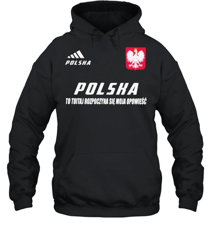 Polska DS 3 To Tutaj Rozpoczyna Sie Moja Opowiesc  Unisex Hoodie
