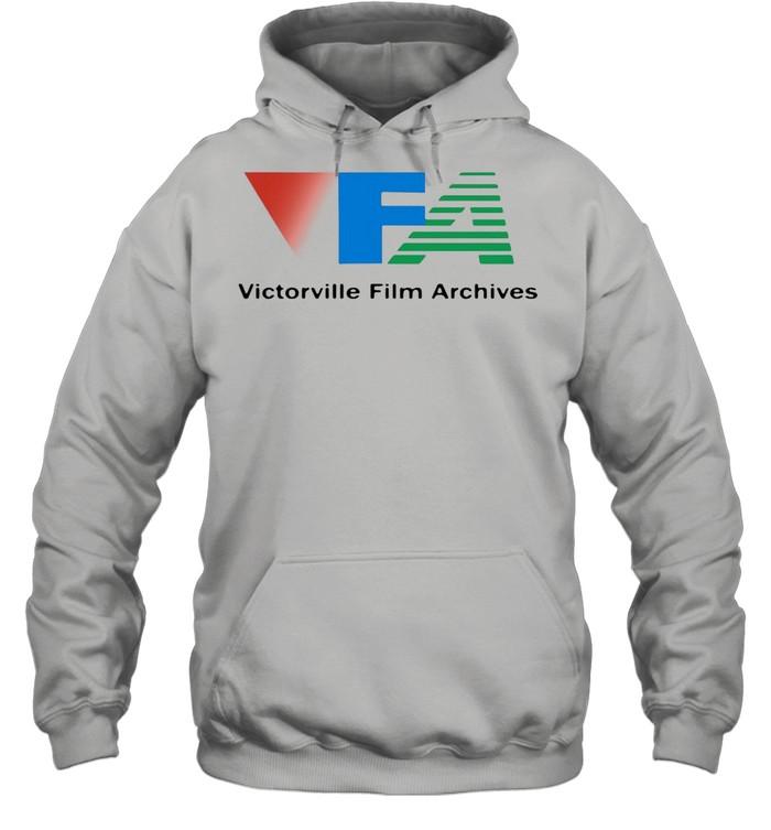 Victorville Film Archives shirt Unisex Hoodie