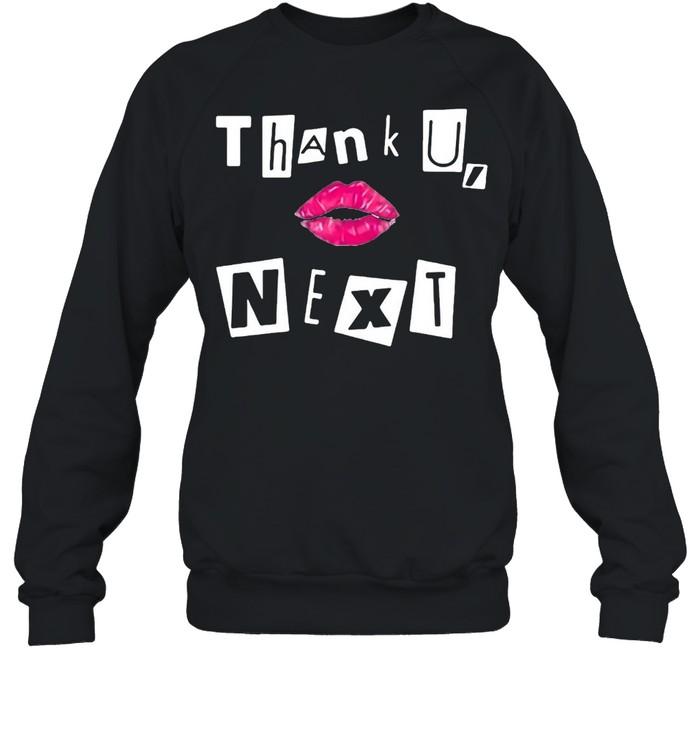 Ariana Grande Lip Thank U Next 2021 T-shirt Unisex Sweatshirt