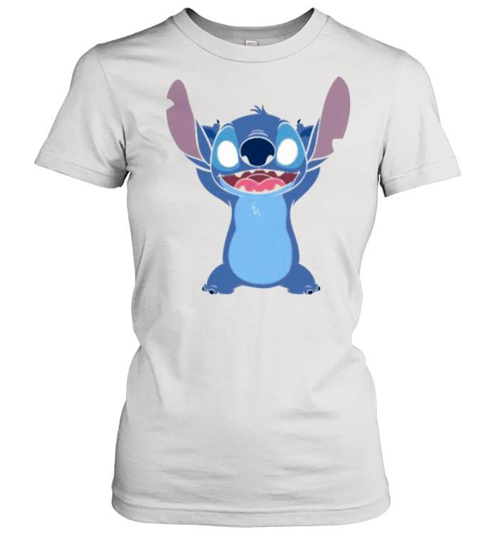 Stitch Supernatural Creature  Classic Women's T-shirt