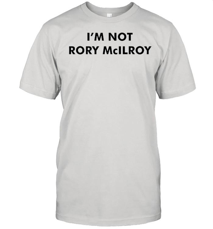 Im not Rory McILRoy shirt Classic Men's T-shirt