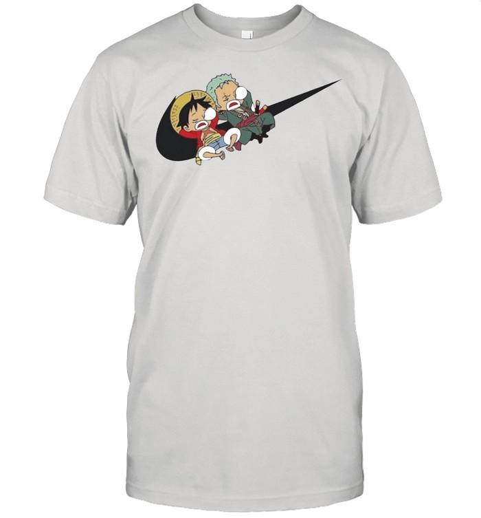 Variation Nike Luffy And Zoro shirt Classic Men's T-shirt