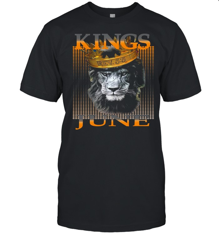 Kings Are Born In June  Classic Men's T-shirt