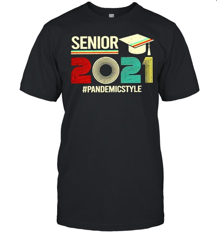 Senior 2021 Pandemic style shirt Classic Men's T-shirt