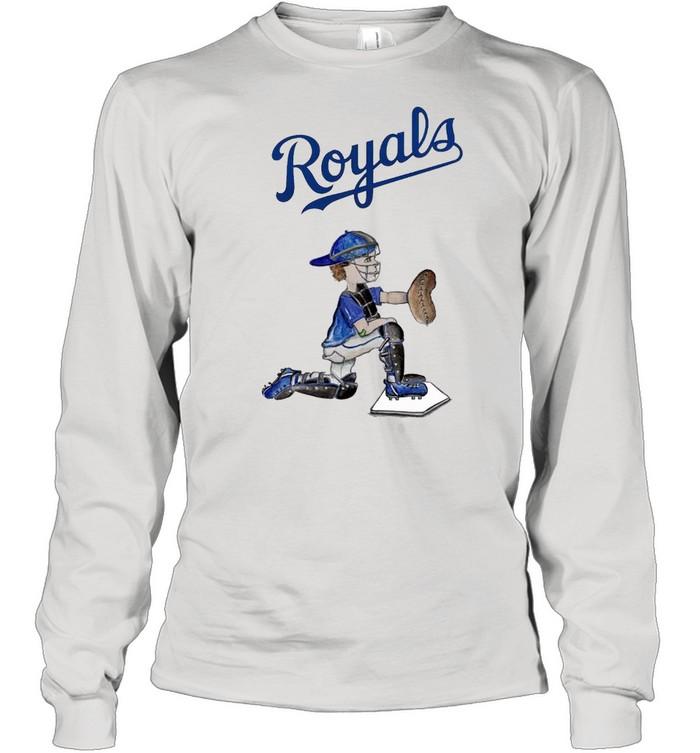 Kansas City Royals Caleb the Catcher shirt Long Sleeved T-shirt