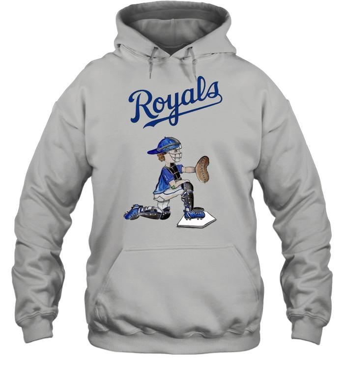 Kansas City Royals Caleb the Catcher shirt Unisex Hoodie