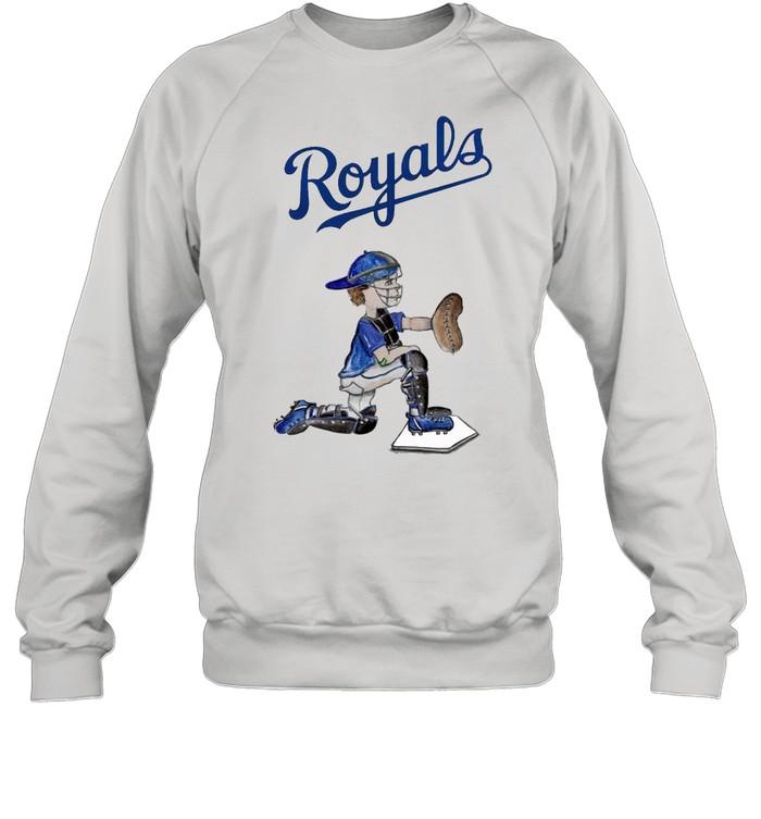Kansas City Royals Caleb the Catcher shirt Unisex Sweatshirt