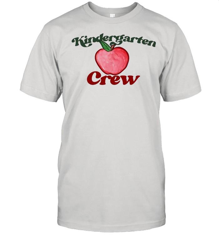Kindergarten Crew Weltbester Lehrer Red Apple New T-shirt Classic Men's T-shirt