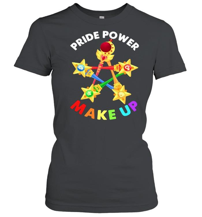 Pride Power Make Up  Classic Women's T-shirt