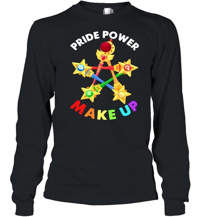 Pride Power Make Up  Long Sleeved T-shirt