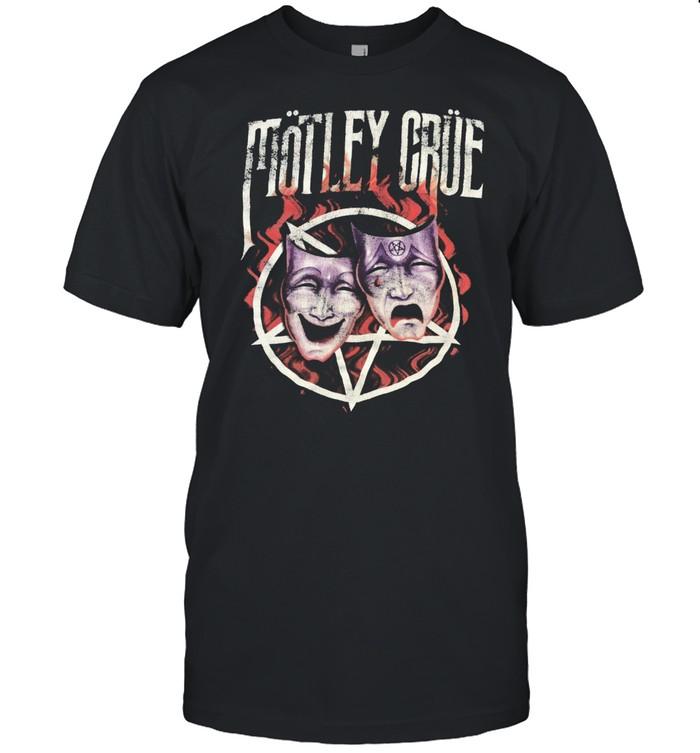 Vintage motley crue theatre of pain promo shirt Classic Men's T-shirt
