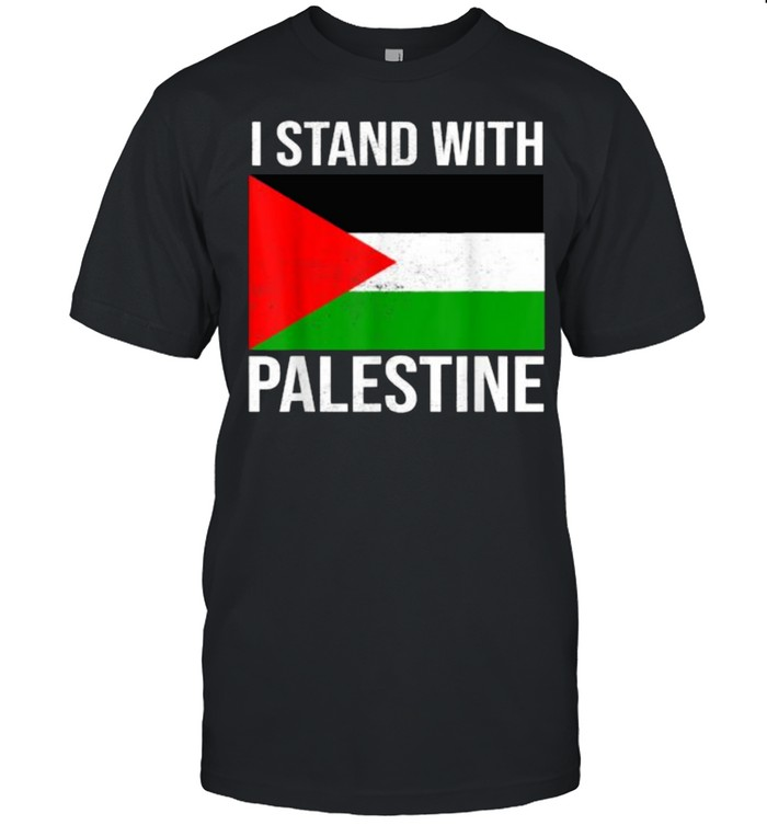 I stand with palestine free palestine flag  Classic Men's T-shirt