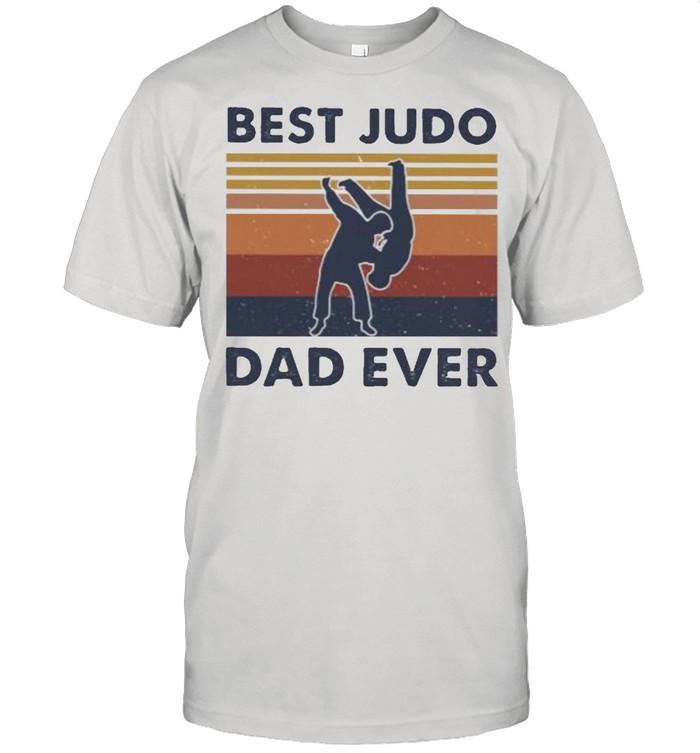 Best Judo Dad Ever Vintage  Classic Men's T-shirt