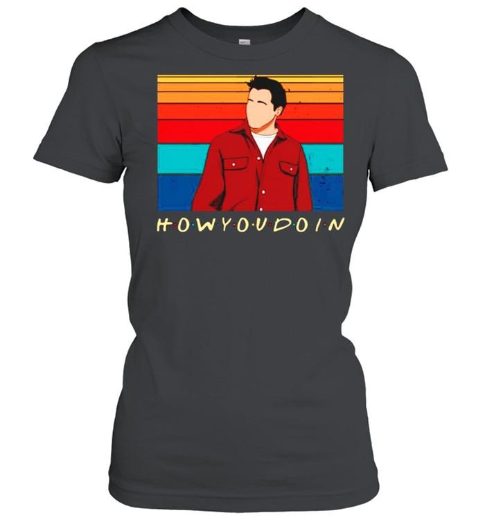 Joey Tribbiani how you doin friends TV show vintage shirt Classic Women's T-shirt