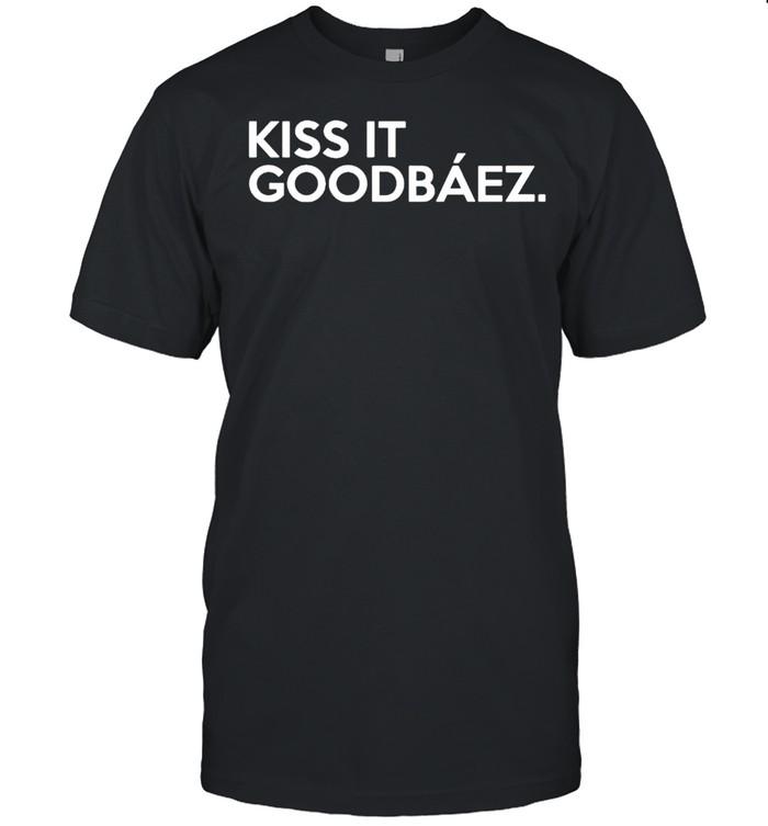 Kiss it goodbaez shirt Classic Men's T-shirt