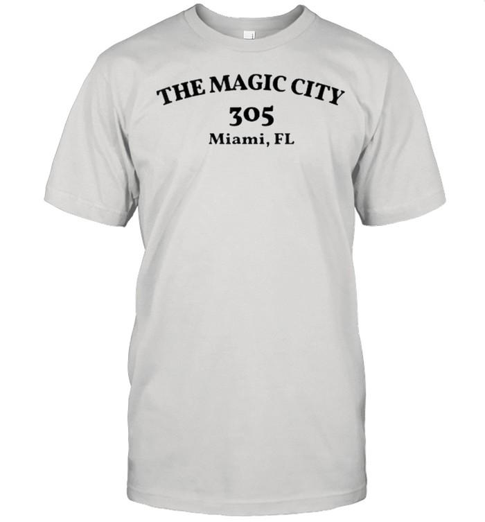 The Miami Florida Area Code 305 The Magic City T- Classic Men's T-shirt