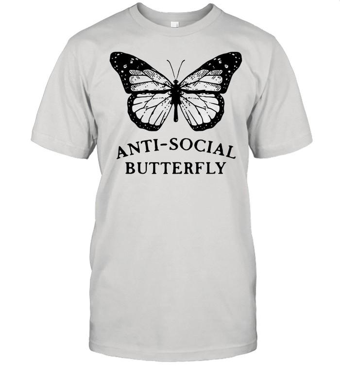 Anti Social Butterfly  Classic Men's T-shirt