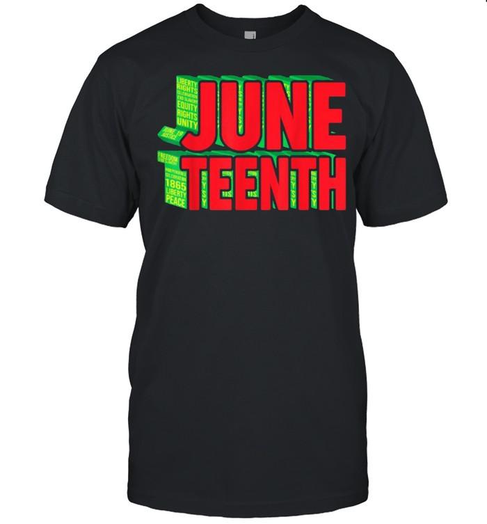 Juneteenth Celebrate Black Slave Freedom T- Classic Men's T-shirt