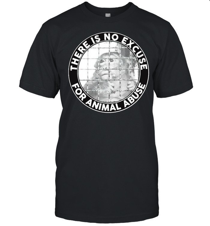 There is no excuse for animal abuse shirt Classic Men's T-shirt