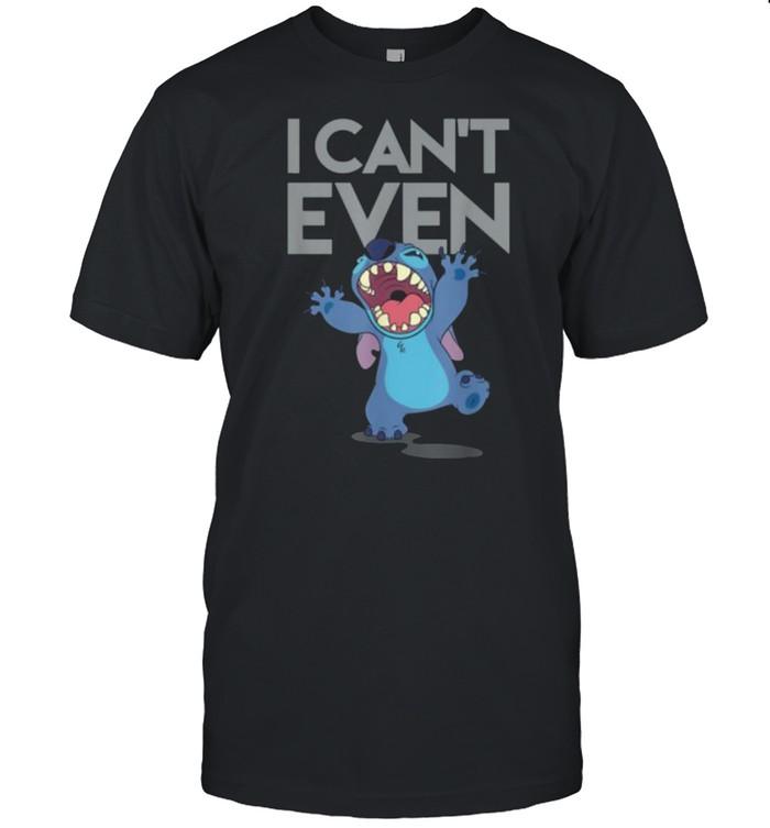 I Cant Even Lilo and Stitch Disney T-shirt Classic Men's T-shirt
