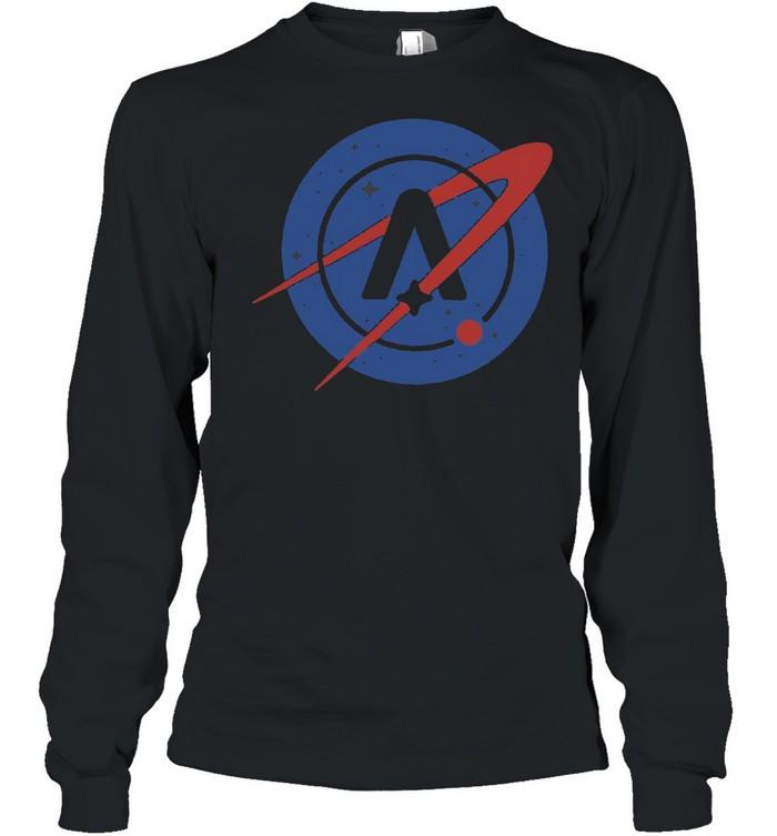 Nasa Astroneer T-shirt Long Sleeved T-shirt