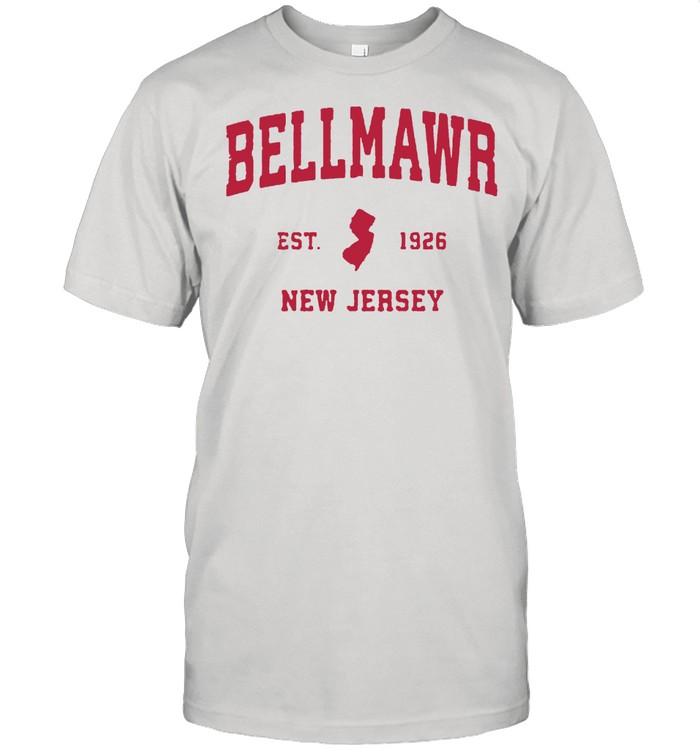 Bellmawr New Jersey 1926 NJ Vintage Sports T- Classic Men's T-shirt
