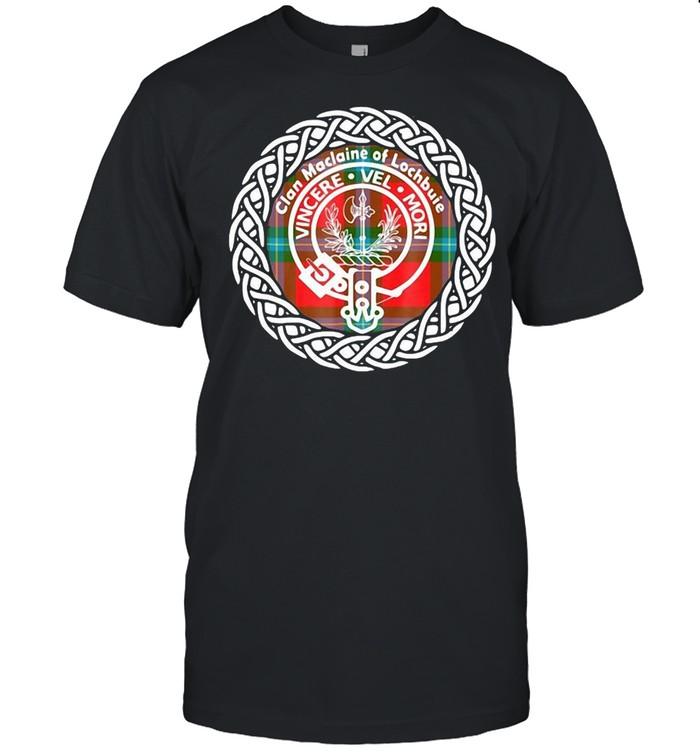 Clan Maclaine Of Lochbuie Vincere Vel Mori T-shirt Classic Men's T-shirt