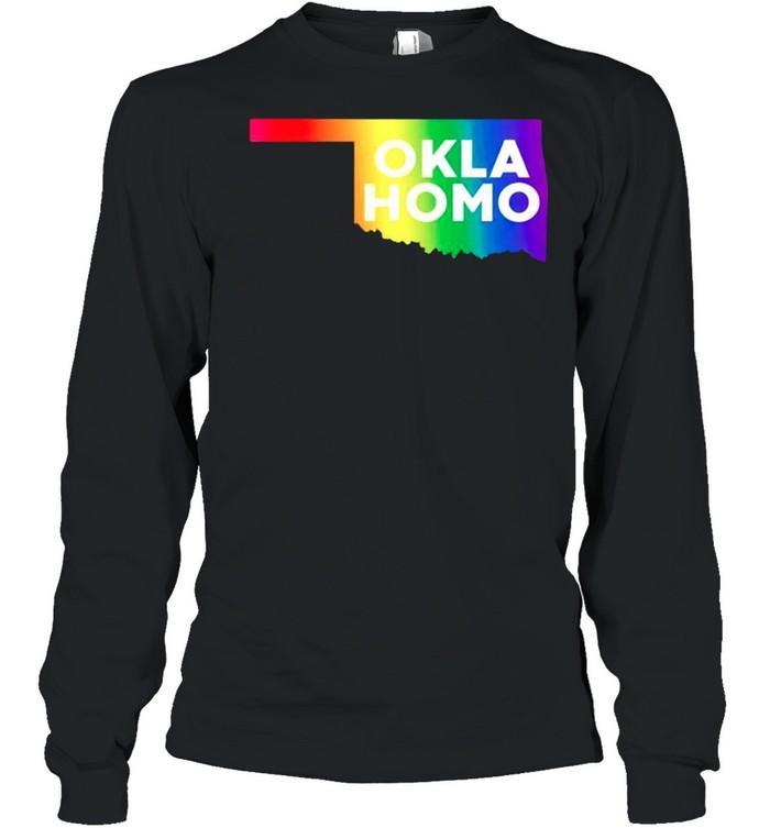 Pride LGBT Oklahomo shirt Long Sleeved T-shirt