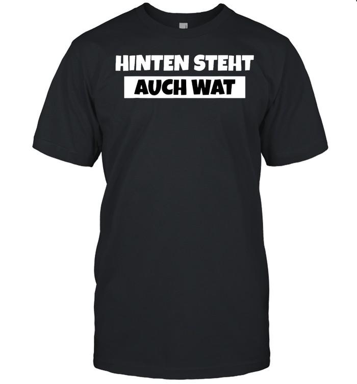 Hinten Steht Auch Wat shirt Classic Men's T-shirt