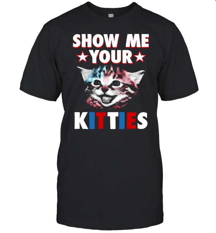Cat Show Me Your Kitties T-shirt Classic Men's T-shirt