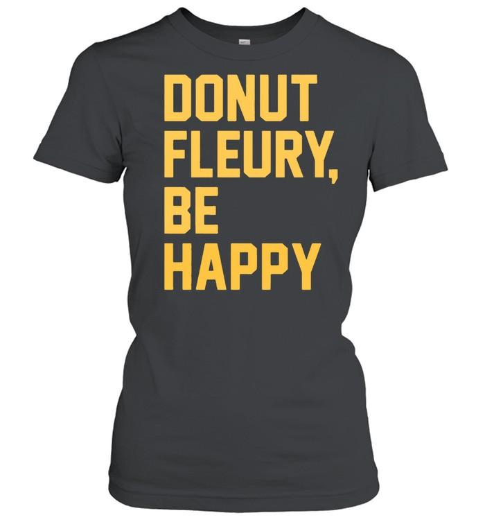 Donut Fleurybe happy shirt Classic Women's T-shirt